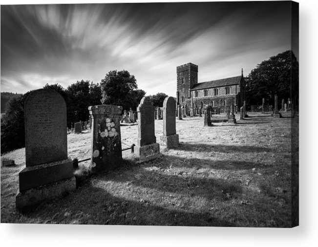 Kilmartin Parish Church Acrylic Print featuring the photograph Kilmartin Parish Church by Dave Bowman