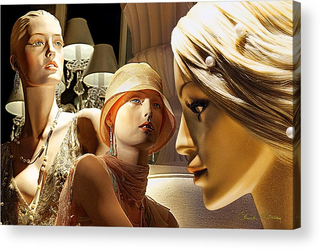 Beautiful Acrylic Print featuring the photograph Ladies Of Rodeo Drive by Chuck Staley