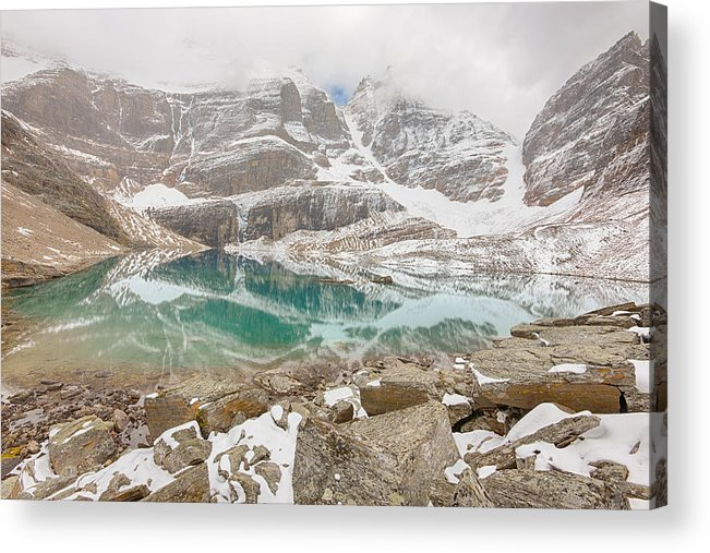 Adventure Acrylic Print featuring the photograph Lake Oesa - Yoho National Park - Canada by Steve Lagreca