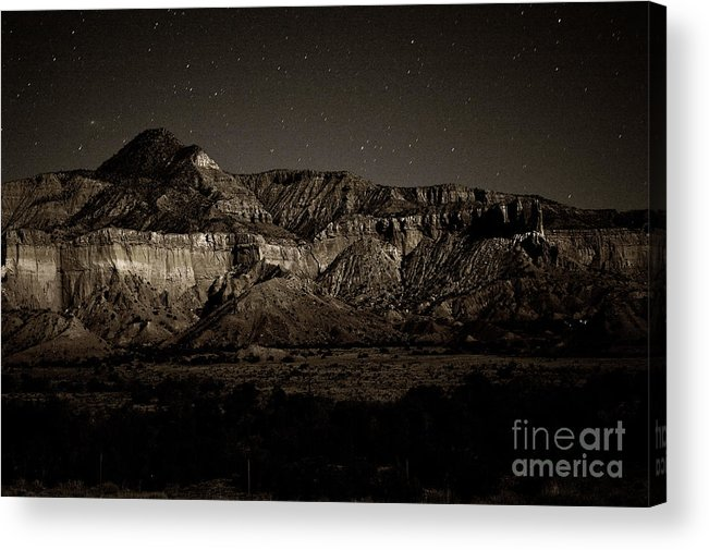 Nm Acrylic Print featuring the photograph Landscape A10c Nm Co by Otri Park