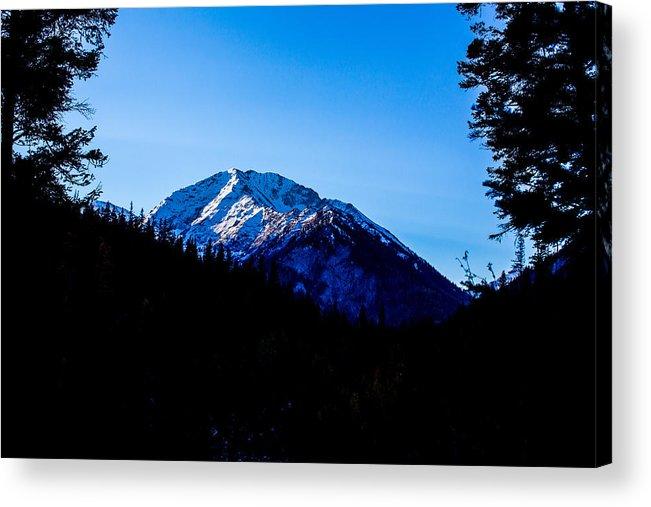 Sacajawea Peak Acrylic Print featuring the photograph Landscape Oregon by Grady Rawls