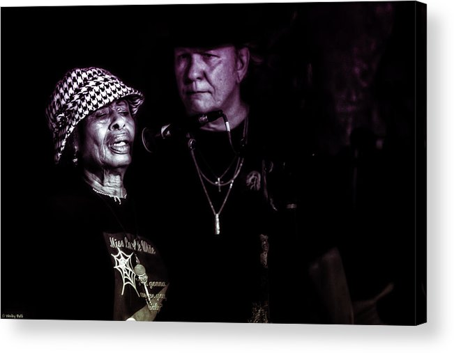 Benefit; Musician; Austin Musician; 2013 Acrylic Print featuring the photograph Lavelle White by Wesley Balli