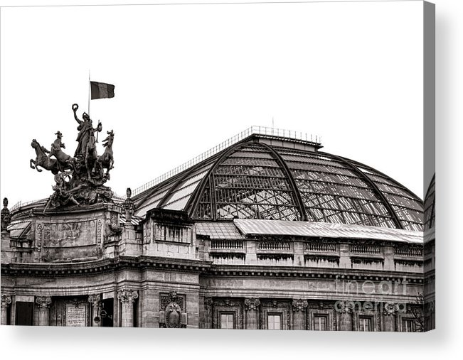 France Acrylic Print featuring the photograph Le Grand Palais by Olivier Le Queinec
