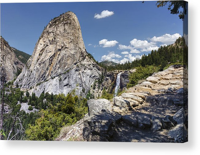 Yosemite National Park Acrylic Print featuring the photograph Liberty And Nevada by Joseph S Giacalone
