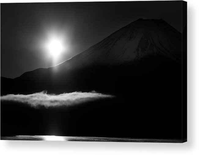 Dark Acrylic Print featuring the photograph Light And Darkness by Akihiro Shibata
