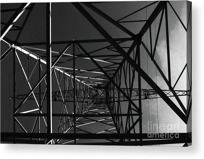 Line Acrylic Print featuring the photograph Lines And Angles by Pit Hermann