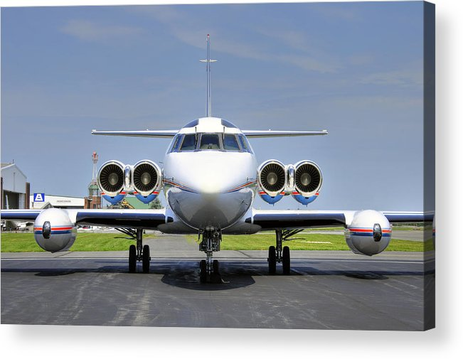 Jetstar Acrylic Print featuring the photograph Lockheed Jetstar 2 by Dan Myers