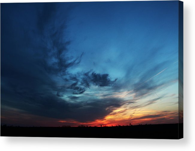 Sunset Acrylic Print featuring the photograph Lullaby by Christine Johnson