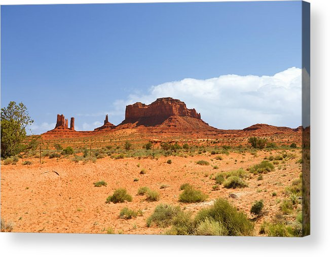 Monument Acrylic Print featuring the photograph Magnificent Monument Valley by Christine Till