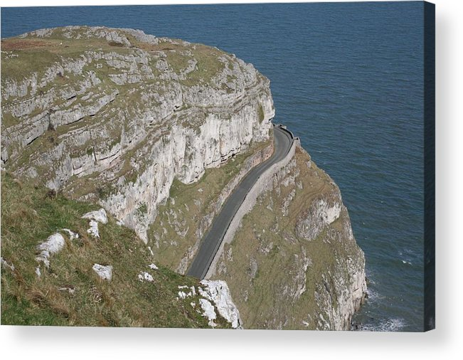 Marine Acrylic Print featuring the photograph Marine Drive by Christopher Rowlands