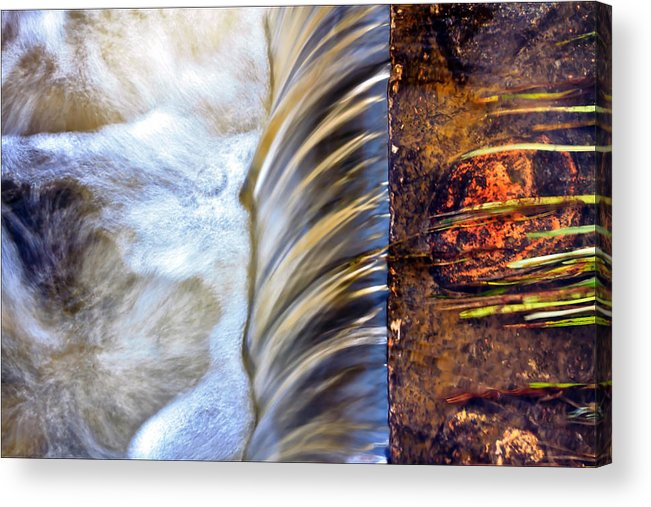 Weir Acrylic Print featuring the photograph Zen Weir by EXparte SE