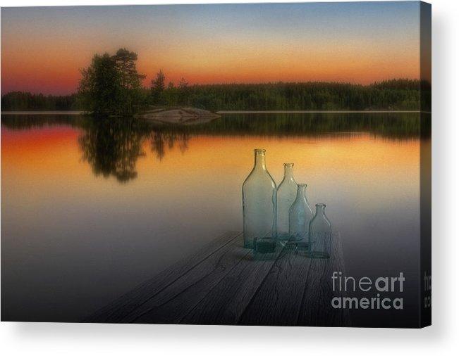 Art Acrylic Print featuring the photograph Midsummer Magic by Veikko Suikkanen