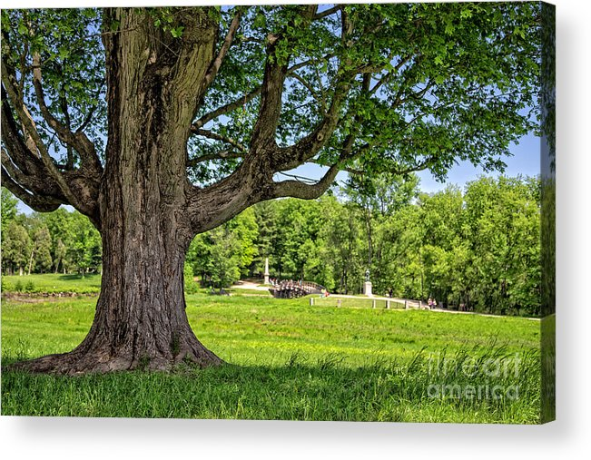Boston Acrylic Print featuring the photograph Minute Man National Historical Park by Edward Fielding