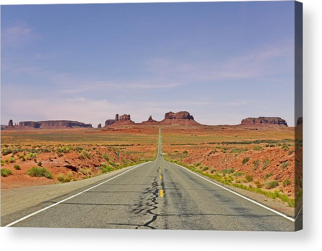 Monument Acrylic Print featuring the photograph Monument Valley - The Classic View by Christine Till