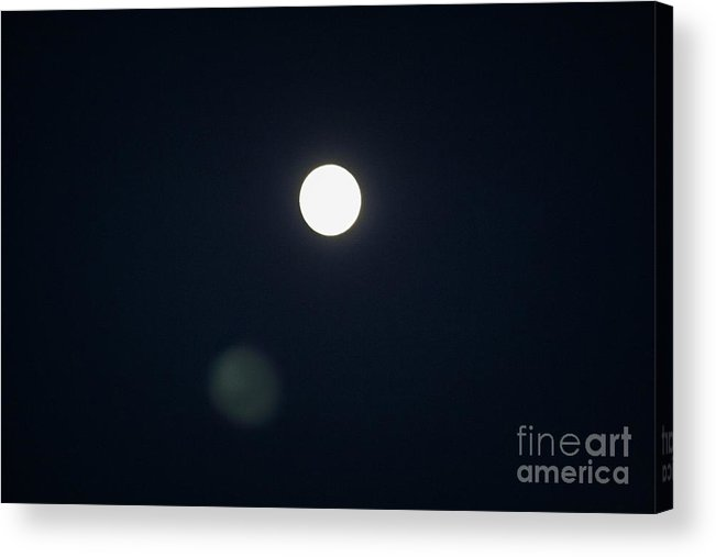 Landscape Acrylic Print featuring the photograph Moonshadow by Chris Berry