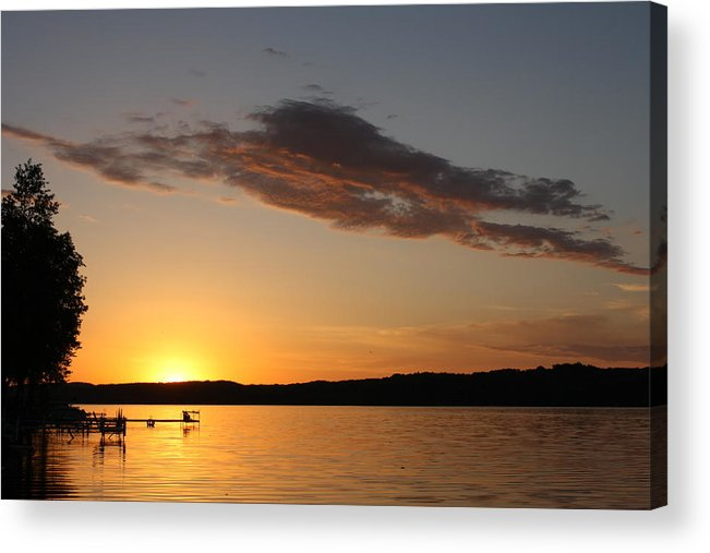 Sunrise Acrylic Print featuring the photograph Mornings First Light by Bruce Bley