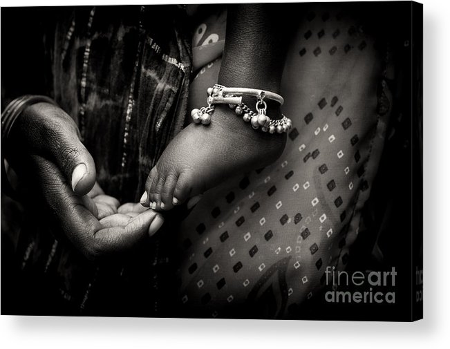 Mother Acrylic Print featuring the photograph Mothers Love by Tim Gainey