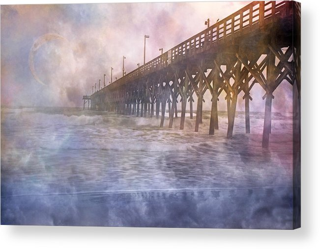 Topsail Acrylic Print featuring the photograph Mystical Morning by Betsy Knapp