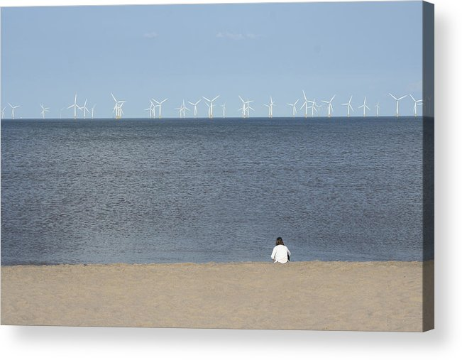 Sea Acrylic Print featuring the photograph Natures Energy by Russell Sherwood