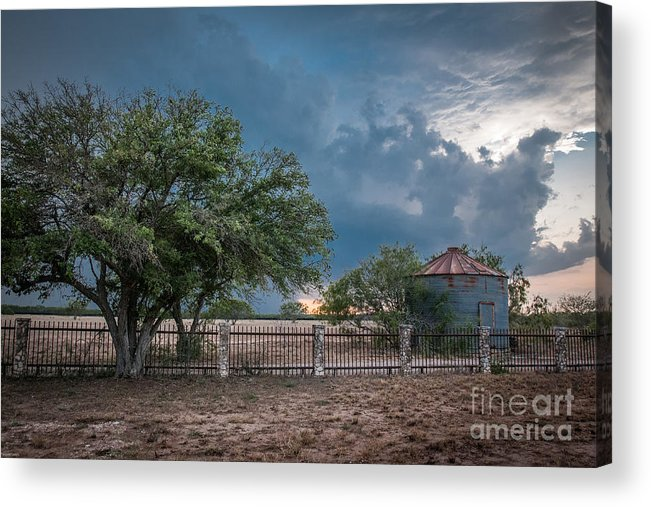 Ranch Storm Acrylic Print featuring the photograph Needing Rain by Sherry Davis