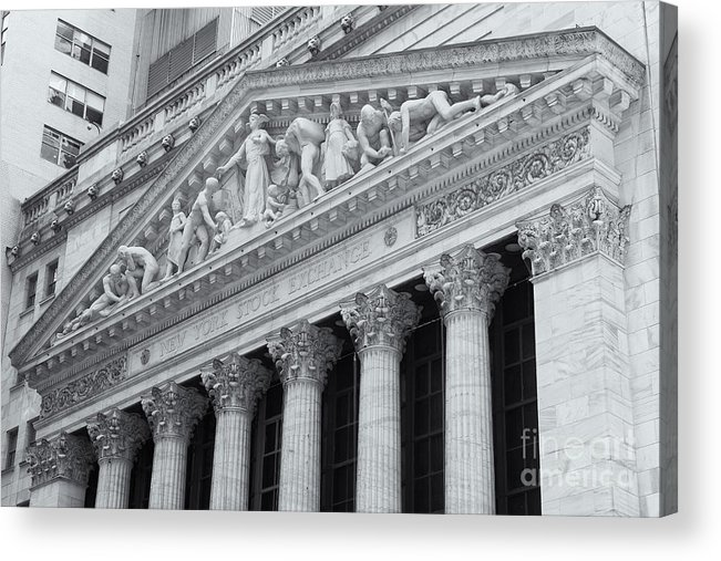 Clarence Holmes Acrylic Print featuring the photograph New York Stock Exchange II by Clarence Holmes