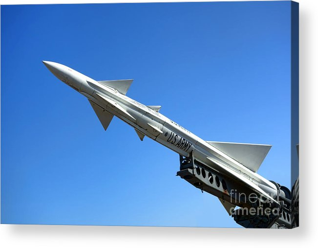 Nike Acrylic Print featuring the photograph Nike Ajax by Olivier Le Queinec