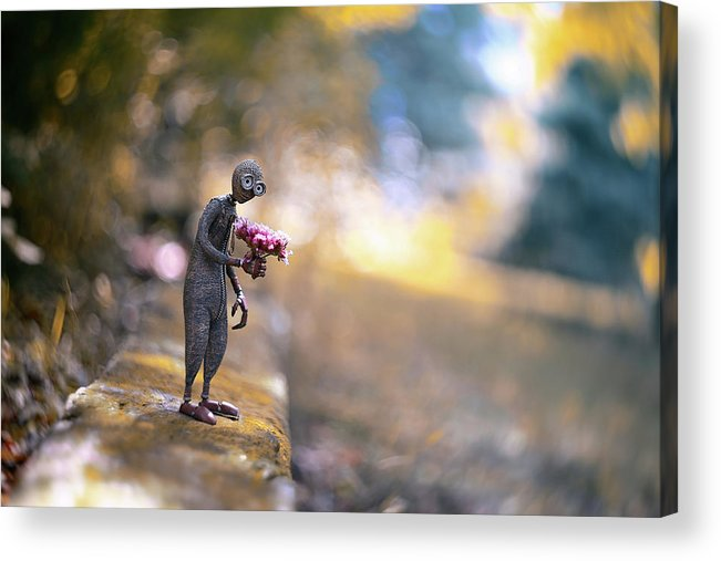 Flowers Acrylic Print featuring the photograph Nine by Erdal Suat