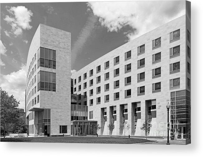 African-american Institute Acrylic Print featuring the photograph Northeastern University O' Bryant African American Institute by University Icons