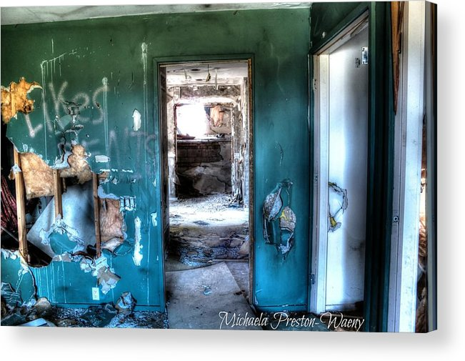 Hdr Acrylic Print featuring the photograph Observatory 3 by Michaela Preston