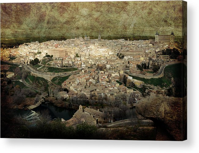Toledo Acrylic Print featuring the photograph Old City Of Toledo by RicardMN Photography