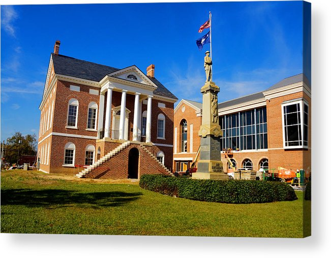 Lancaster Acrylic Print featuring the photograph Old Lancaster County Court House by Joseph C Hinson Photography