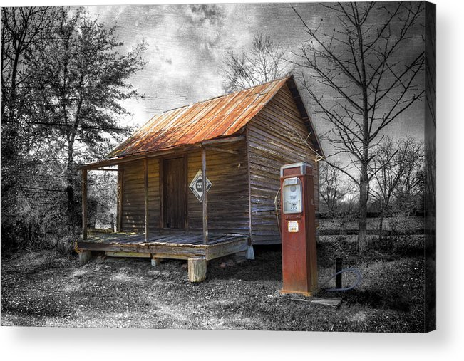 American Acrylic Print featuring the photograph Olden Days by Debra and Dave Vanderlaan