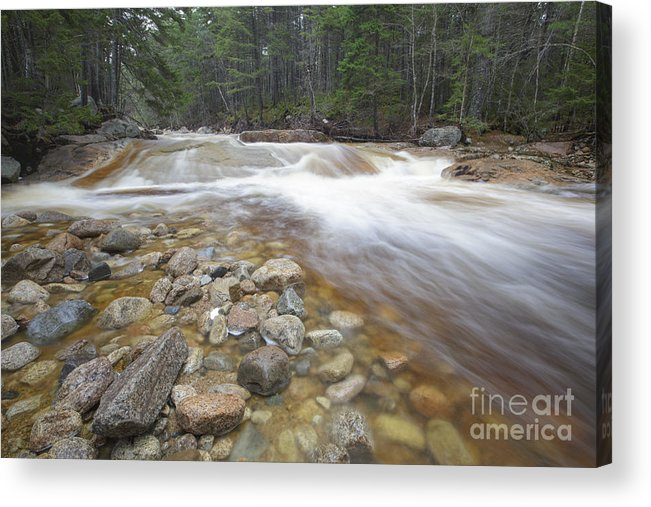 White Mountain National Forest Acrylic Print featuring the photograph Otter Rocks - White Mountains New Hampshire Usa by Erin Paul Donovan