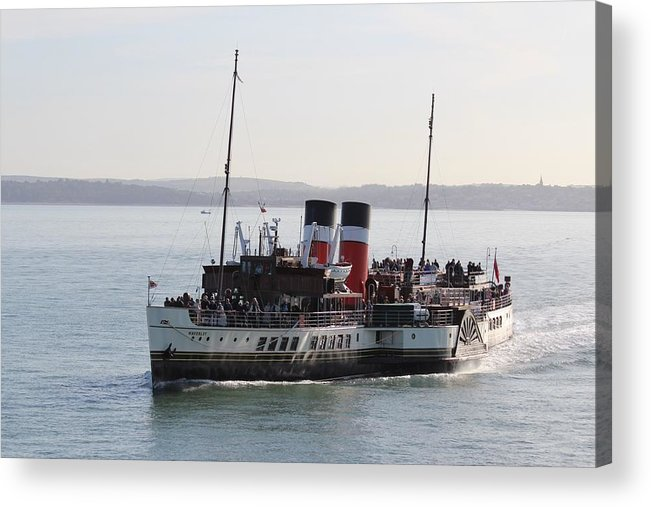 Paddle Steamer Acrylic Print featuring the photograph Paddle Steamer by Robert Phelan