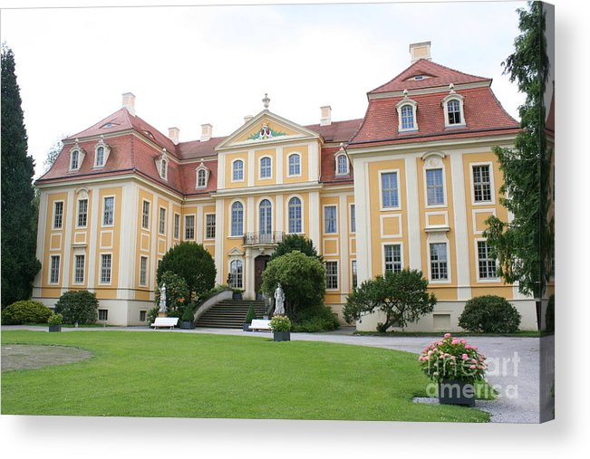 Palace Acrylic Print featuring the photograph Palace Rammenau - Germany by Christiane Schulze Art And Photography