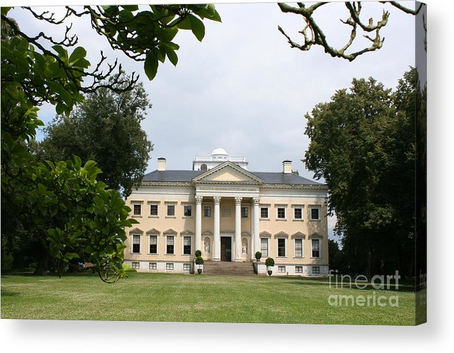 Palace Acrylic Print featuring the photograph Palace Woerlitz by Christiane Schulze Art And Photography
