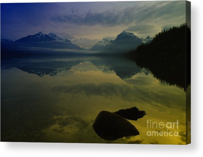 Sunrise Acrylic Print featuring the photograph Paradise Happens by Jeff Swan