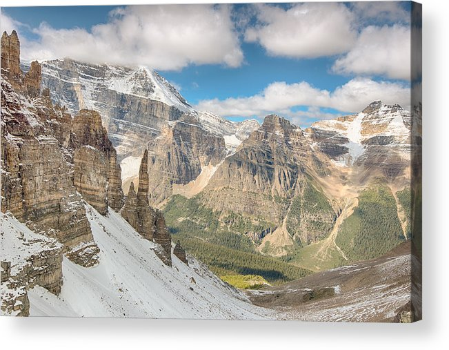 Adventure Acrylic Print featuring the photograph Paradise Valley - Banff National Park - Canada by Steve Lagreca