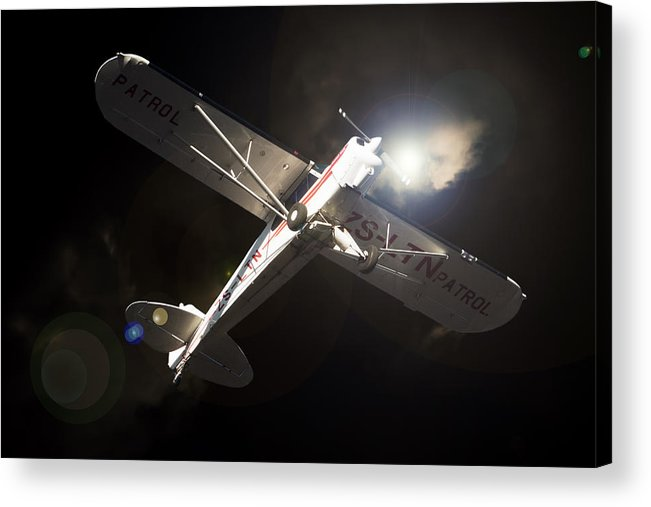 Aviation Acrylic Print featuring the photograph Patrol by Paul Job