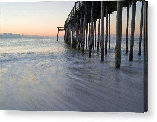 Ocean Acrylic Print featuring the photograph Peaceful Ocean Sunrise by Benjamin Reed