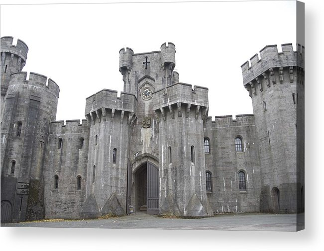 Castles Acrylic Print featuring the photograph Penrhyn Castle 3 by Christopher Rowlands