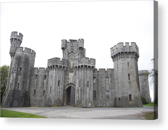 Castles Acrylic Print featuring the photograph Penrhyn Castle by Christopher Rowlands