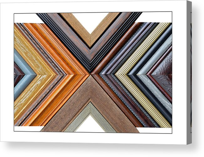 Art Acrylic Print featuring the photograph Picture Frame Art by Susan Leggett