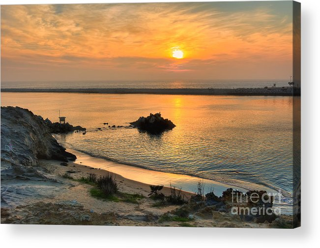 Pirate Acrylic Print featuring the photograph Pirate's Cove by Eddie Yerkish