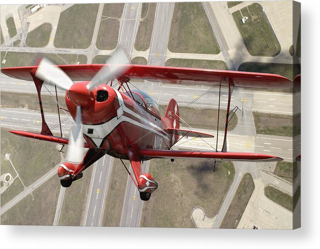 Pitts Special S-2b Framed Prints Acrylic Print featuring the photograph Pitts Special S-2b by Larry McManus