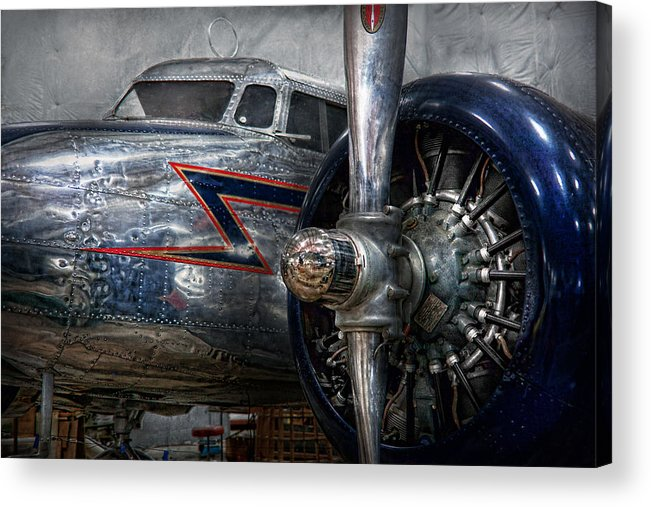 Plane Acrylic Print featuring the photograph Plane - Hey Fly Boy by Mike Savad