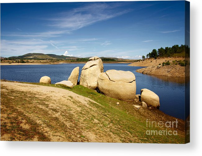 Portugal Acrylic Print featuring the photograph Portugal Countryside by Carlos Caetano