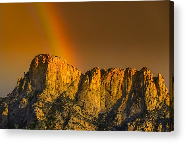 Acrylic Prints Acrylic Print featuring the photograph Pot Of Gold by Mark Myhaver