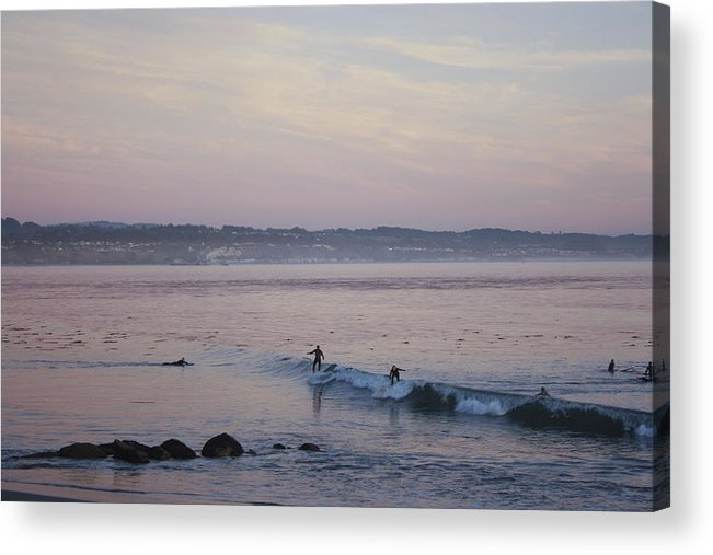 Landscape Acrylic Print featuring the photograph pr 240-Evening Sunset by Chris Berry