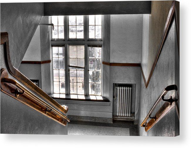 Pullman High School Acrylic Print featuring the photograph Pullman High School II - Where Memories Were Made by David Patterson